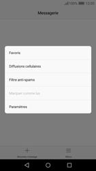 Huawei Y6 (2017) - SMS - Configuration manuelle - Étape 5