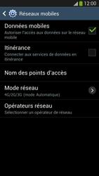 Samsung I9505 Galaxy S IV LTE - Réseau - Sélection manuelle du réseau - Étape 6