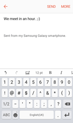 Samsung G389 Galaxy Xcover 3 VE - E-mail - Sending emails - Step 10