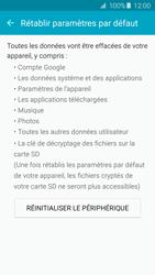 Samsung A510F Galaxy A5 (2016) - Appareil - Réinitialisation de la configuration d