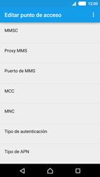 Sony Xperia M4 Aqua - Internet - Configurar Internet - Paso 12