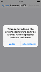Apple iPhone SE - iOS 12 - Aplicações - Como configurar o WhatsApp -  13