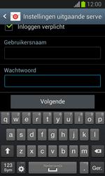 Samsung S7390 Galaxy Trend Lite - E-mail - Account instellen (IMAP met SMTP-verificatie) - Stap 15