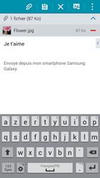 Samsung G850F Galaxy Alpha - E-mail - envoyer un e-mail - Étape 15