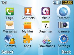 Samsung S3350 Chat 335 - Internet - Internet browsing - Step 2