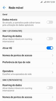 Huawei Mate 10 - Internet no telemóvel - Como ativar os dados móveis -  5