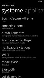 Nokia Lumia 930 - Premiers pas - Configurer l
