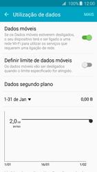 Samsung Galaxy A3 A310F 2016 - Internet no telemóvel - Como ativar os dados móveis -  6