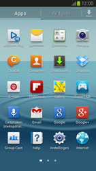 Samsung I9305 Galaxy S III LTE - Internet - Hoe te internetten - Stap 2
