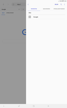 Samsung galaxy-tab-a-10-5-sm-t595 - Internet - Hoe te internetten - Stap 12