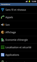 Samsung I8160 Galaxy Ace II - Messagerie vocale - configuration manuelle - Étape 5