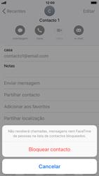 Apple iPhone 7 - iOS 12 - Chamadas - Como bloquear chamadas de um número -  6