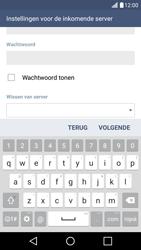 LG K10 4G - E-mail - Handmatig instellen - Stap 13