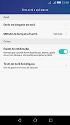 Huawei Y6 - Segurança - Como ativar o código de bloqueio do ecrã -  4