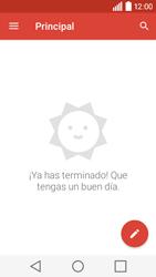 LG Leon - E-mail - Configurar Gmail - Paso 5