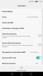 Huawei P9 Lite - Mensajería - Configurar el equipo para mensajes de texto - Paso 9