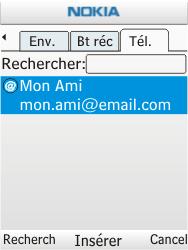 Nokia C2-01 - E-mail - envoyer un e-mail - Étape 7