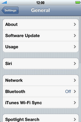 Apple iPhone 4 S - Internet - Manual configuration - Step 4