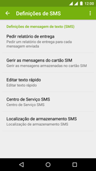 Wiko Rainbow Jam DS - SMS - Como configurar o centro de mensagens -  9