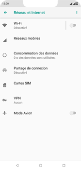 Wiko View 2 Plus - Internet - comment configurer un point d'accès mobile - Étape 5