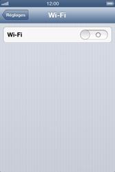 Apple iPhone 4 S - iOS 6 - Wifi - configuration manuelle - Étape 3