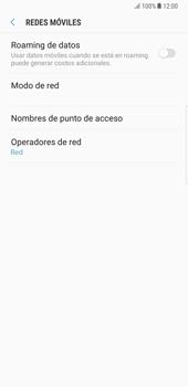 Samsung Galaxy Note 8 - Internet - Configurar Internet - Paso 8