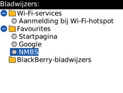 BlackBerry 8520 Curve - Internet - Hoe te internetten - Stap 11