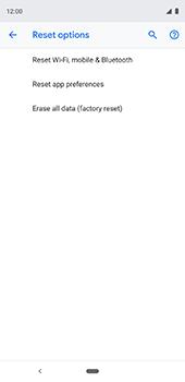 Google Pixel 3XL - Device - Factory reset - Step 9
