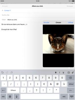 Apple iPad Pro (9.7) - E-mail - envoyer un e-mail - Étape 10
