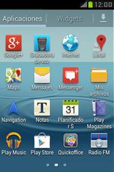 Samsung S6310 Galaxy Young - Mensajería - Configurar el equipo para mensajes de texto - Paso 3