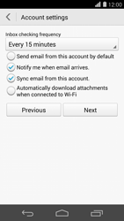 Huawei Ascend P7 - Email - 032c. Email wizard - Outlook - Step 8