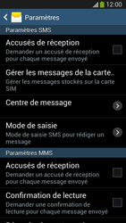 Samsung C105 Galaxy S IV Zoom LTE - SMS - Configuration manuelle - Étape 8