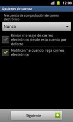 Samsung I8160 Galaxy Ace II - E-mail - Configurar correo electrónico - Paso 15
