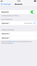 Apple iPhone 8 - iOS 12 - Bluetooth - koppelen met ander apparaat - Stap 8