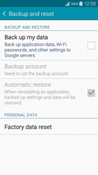 Samsung A300FU Galaxy A3 - Device - Reset to factory settings - Step 6