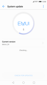 Huawei Mate 9 - Network - Installing software updates - Step 6