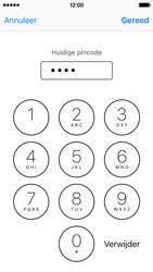 Apple iPhone 5c met iOS 10 (Model A1507) - Beveiliging en ouderlijk toezicht - Hoe wijzig ik mijn SIM PIN-code - Stap 7