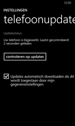 Nokia Lumia 635 - Software updaten - Update installeren - Stap 7