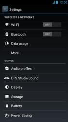 Acer Liquid S1 - Internet - Manual configuration - Step 4