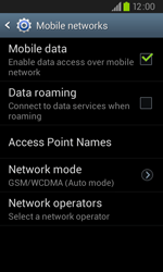 Samsung I9105P Galaxy S II Plus - Internet - Enable or disable - Step 6