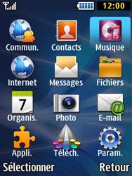 Samsung Solid 271 - Photos, vidéos, musique - Ecouter de la musique - Étape 3