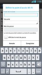 LG Optimus F5 - Internet et connexion - Partager votre connexion en Wi-Fi - Étape 8