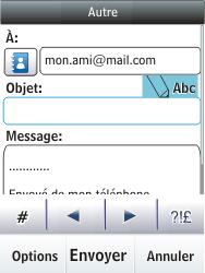 Nokia C2-03 - E-mail - envoyer un e-mail - Étape 10