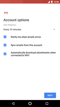Nokia 6 (2018) - E-mail - Manual configuration - Step 21