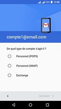Acer Liquid Zest 4G Plus - E-mail - Configurer l
