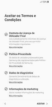 Samsung Galaxy S8 - Android Oreo - Primeiros passos - Como ligar o telemóvel pela primeira vez -  8