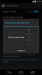 Motorola Moto X (2ª Gen) - Internet - Ver uso de datos - Paso 7