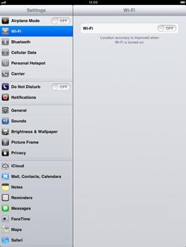 Apple iPad mini - Network - Usage across the border - Step 3