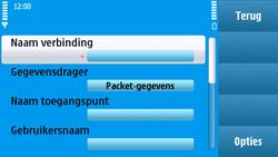 Nokia N97 - MMS - handmatig instellen - Stap 14