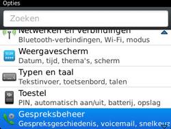 BlackBerry 9320 Curve - Voicemail - Handmatig instellen - Stap 4